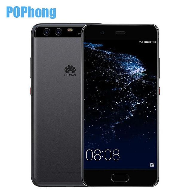 Original Huawei P10 4GB RAM 64GB ROM Android 7.0 Smartphone 5.1 inch Kirin 960 Octa Core Dual SIM 20.0MP+12.0MP NFC