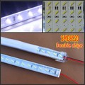 Best Promotion 50sets 100cm SMD 8520 led Rigid Strip bar light 1m + aluminium profile + PC cover