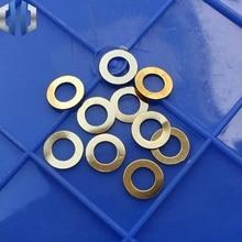 10pcs Hinderer XM-18 / XM-24 Brass Gasket Washer Titanium EDC Knife