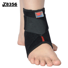 K8356 Adjustable Ankle Protection Bandage Elastic Sports Safety Fitness Ankle Guard Volleyball Basketball Ankle Support