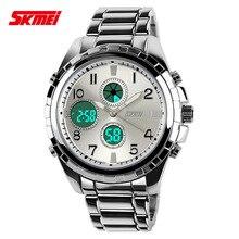 Relojes de los hombres Deportes Reloj de Buceo de Cuarzo de Acero Llena de Marcas de Lujo LED Digital Reloj Militar Del Ejército Reloj Deportivo relogio masculino 2015
