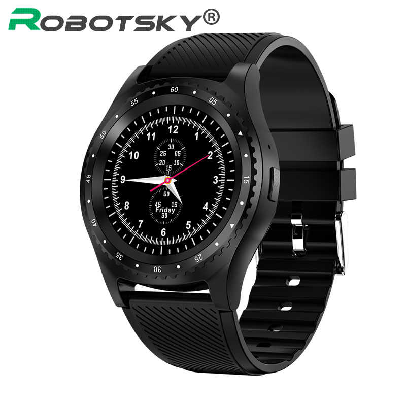 L9 Smart Watch With Camera Bluetooth Sports Watch Pedometer Fitness Monitor Support SIM Card Smartwatch For Xiaomi Huawei