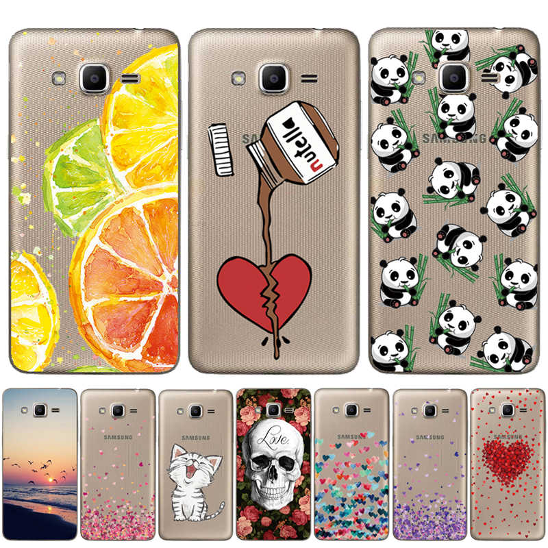 "THREE-DIAO Soft TPU 5.0"" FOR Capa Samsung Galaxy J2 Prime Case Cover G532F G532 SM-G532F Silicone FOR Capa Samsung J2 Prime Case"