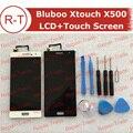 Bluboo Xtouch X500 LCD FHD Tela de 5.0 polegadas lcd display + touch Screen Substituição Do Painel Para Xtouch Bluboo X500 celular + ferramentas