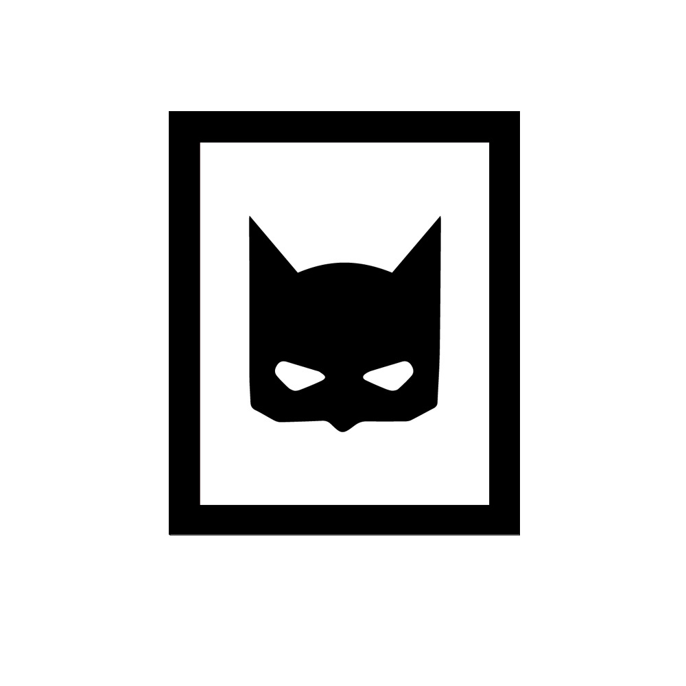 Batman wall sticker decals wallpaper home mural art wallpaper no frame decoration paint adesivo de parede stickers for kids room