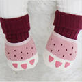 Winter thicken terry baby socks cartoon tiger claw cartoon children socks non - slip baby socks 0 to 4t