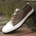 MIVNSKCE tamaño grande 38-44 hombres zapatos de los hombres de moda casual de cuero genuino mocasín de cuero de la marca de lujo de diseño italiano zapatos de los hombres