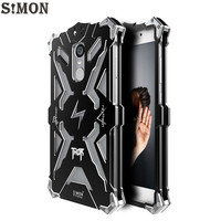 SIMON THOR IRONMAN Metal Armor Case For Xiaomi Redmi Note 4 4X CNC Anodized Aluminum Housing