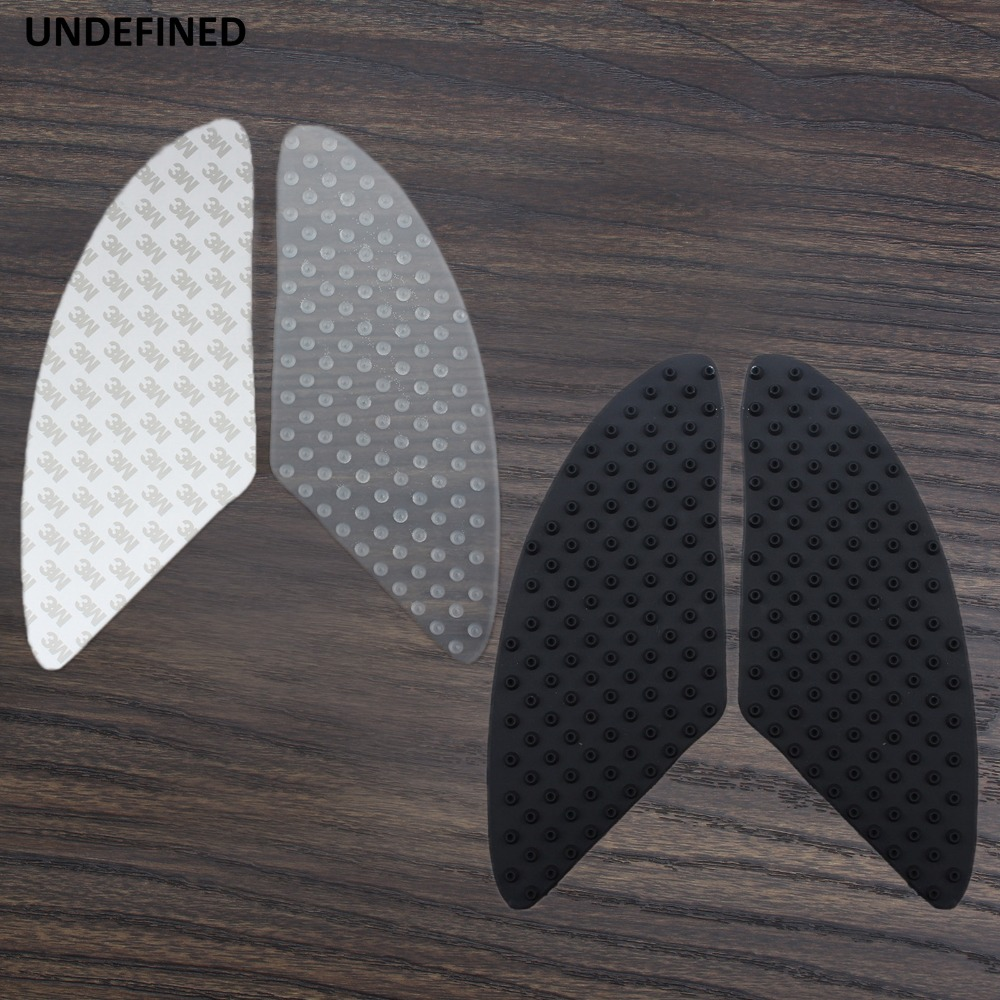 Autocollants Moto Grip Traction Pad Réservoir Kit Côté Carburant Grip Decal Protecteur pour Honda CBR 250R 650F Kawasaki Ninja etc universel