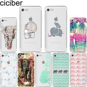 22e47cf8ea6 ciciber cover for iPhone 6 6 S 7 8 plus 5S SE X Coque Fundas Tribal Tattoos  Elephants