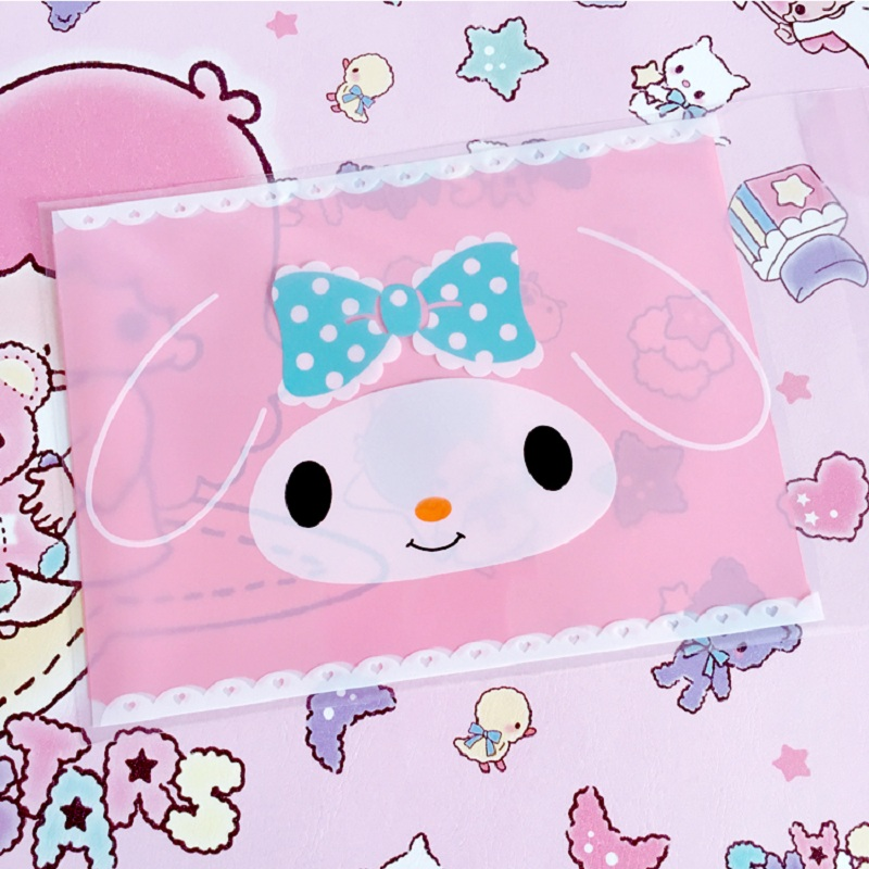 50pcs 100pcs 10*13cm Cartoon Cute Rabbit Candy Cookie Bags Wedding Candy Bags Gift Opp Bags Food Packing Party Easter Favors
