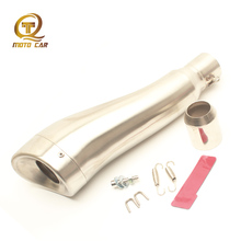Muffler Exhaust Motorcycle 370MM DB Killer GP HP 51MM Escape Moto for  Kawasaki Z250 Z750 300 350 R15 R25 Akrapovic Exhaust Pipe universal motorcycle exhaust 470mm muffler pipe escape moto 51mm for kawasaki z250 z750 z800 r1 r3 honda cb1000r er6n r15 mivv