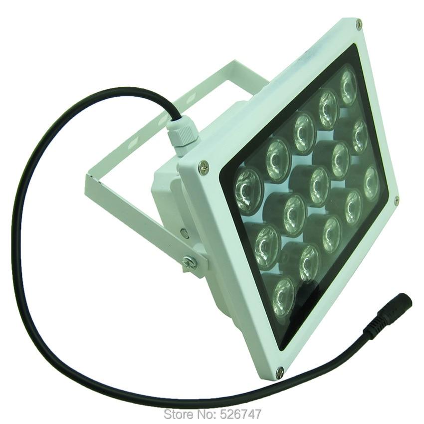 Night vision 8 LED Array IR Infrared Illuminator Lamp SAE100-IR8ZL-2
