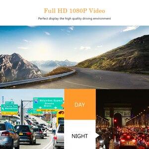 Image 5 - ダッシュカムデュアルカメラレンズフル Hd 1080 P 車 Dvr 車バックミラーカメラナイトビジョンビデオレコーダー G センサー駐車モニター