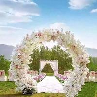 Искусственные цветы шелк Cherry Свадебный сайт макет Mall открытие арки наборы для ухода за кожей украшения для мероприятий дом Декор