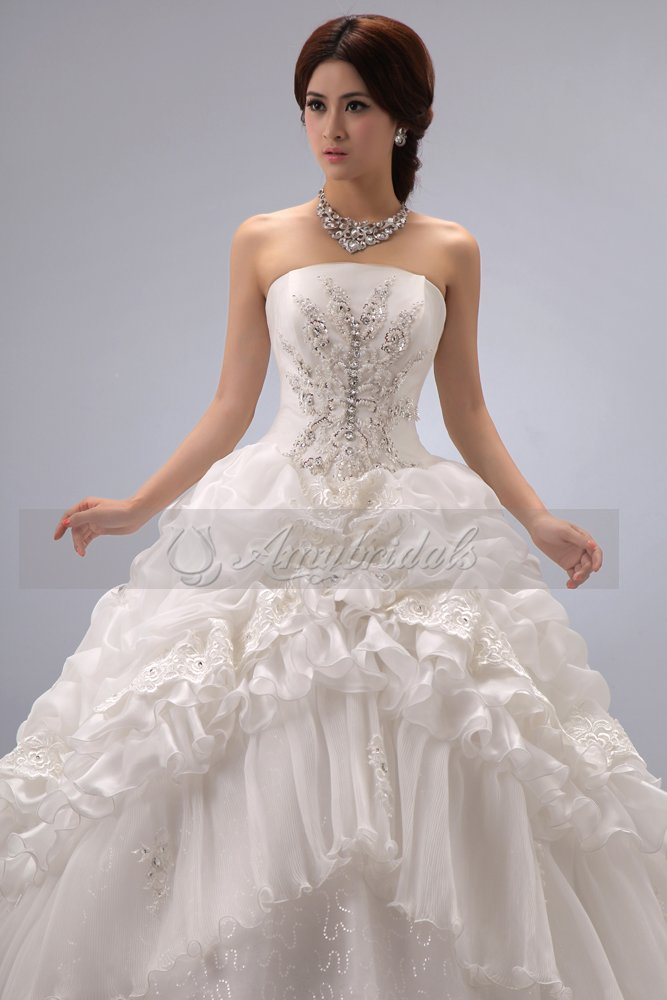A207Beautiful Ball Gown Victorian Style To Be Bride alibaba Wedding ...