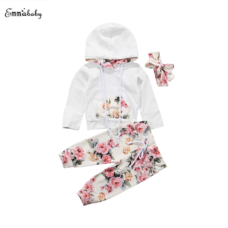 Long Sleeve Toddler Newborn Kids Baby Boys Girls Hoodie Hooded Tops Sweatshirt