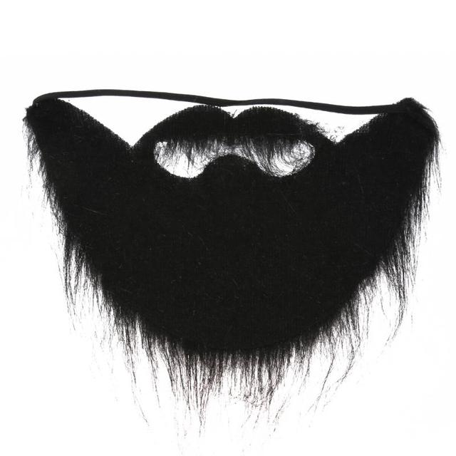 96fa68c0b922 Fancy Dress Fake Beards Halloween Costume Party Moustache Black Halloween  for Pirate Dwarf Elf James Harden Facial Cosplay