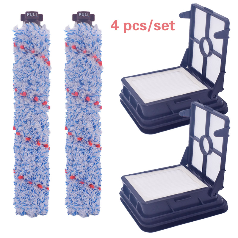 Multi-surface Vacuum Cleaner Brush Roller L And Filter Series For Bissell Crosswave 1785Q, 1785F, 1785B Hot Suitable 1608022
