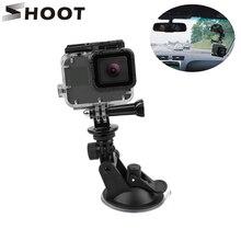 撮影ミニアクションカメラ吸盤移動プロヒーロー9 8 7 5黒sjcam SJ8李4 18k H9rプロ窓ガラス吸盤アクセサリー