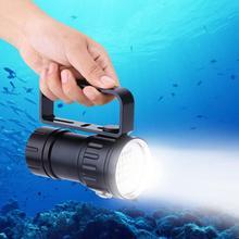 IPX8 18000LM 500M светодиодный фонарик факел водонепроницаемый свет лампы открытый лагерь подводный
