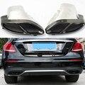 2 шт. наконечники из нержавеющей стали для выхлопной трубы автомобиля для Mercedes Benz W212 W213 W205 X253 W246 W176 X166 A B C E GLS GLC CLASS