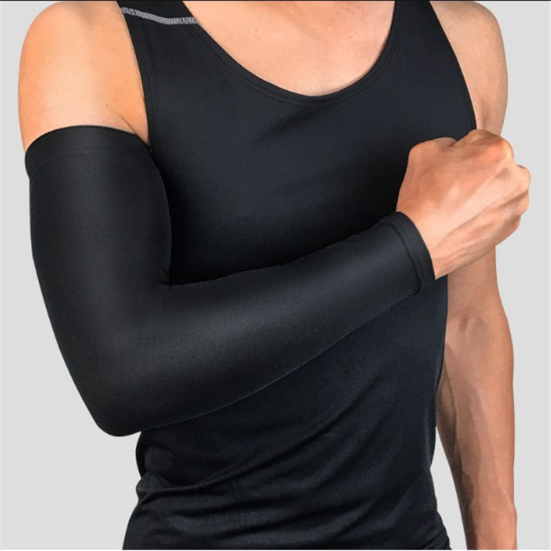 Athletic Long Sleeve Breathable Sunscreen Sleeve Men And Women For Elbow And Wrist Support For Basketball Riding Fishing Hiking