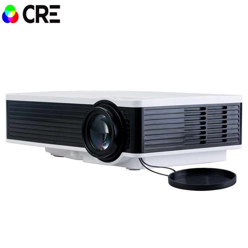 Free shipping original CRE X1600 mini Projector Full HD 1080P Home theater projecting camera LED video
