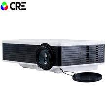 Envío gratis original CRE X1600 mini Proyector Full HD 1080 P cámara de vídeo LED de proyección de cine en Casa home Multimedia de Vídeo