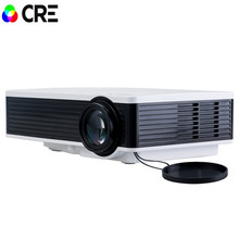Free shipping original CRE X1600 mini Projector Full HD 1080P Home theater projecting camera LED video home Multimedia Video