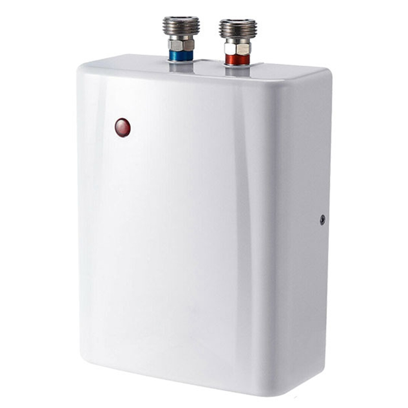 3.5Kw Instant Electric Tankless Water Heater Instantaneous Heating Fast 3 Seconds Hot Show