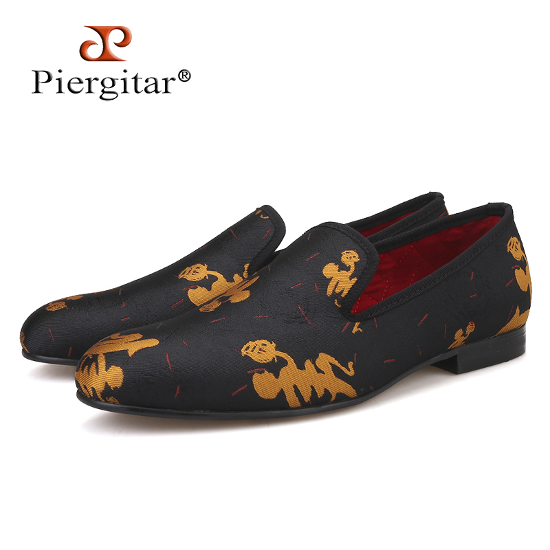 Piergitar new style Handmade Men Abstract paintings shoes Fashion Men smoking slippers Prom and Banquet men loafers mens flatsPiergitar new style Handmade Men Abstract paintings shoes Fashion Men smoking slippers Prom and Banquet men loafers mens flats