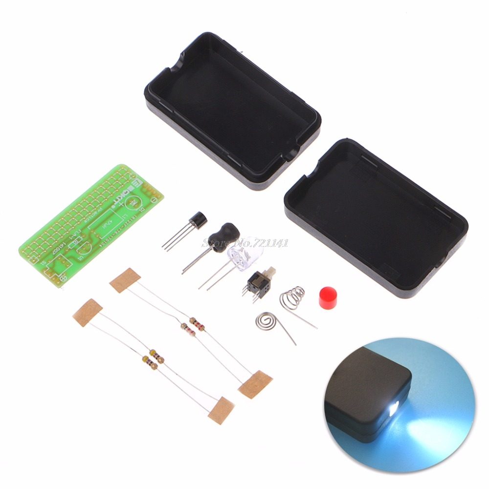 Hot Sale Diy Kit 15v Flashlight Practical Soldering Circuit Board Universal Plate Electronic Parts