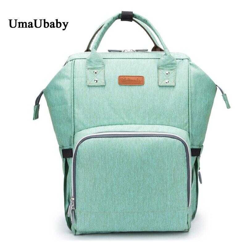 Nouveau modèle de mode maman maternité sac couche Nappy sac Bolsa Maternida imprimé Bebe sac voyage sac à dos Desiger soins infirmiers bébé sac
