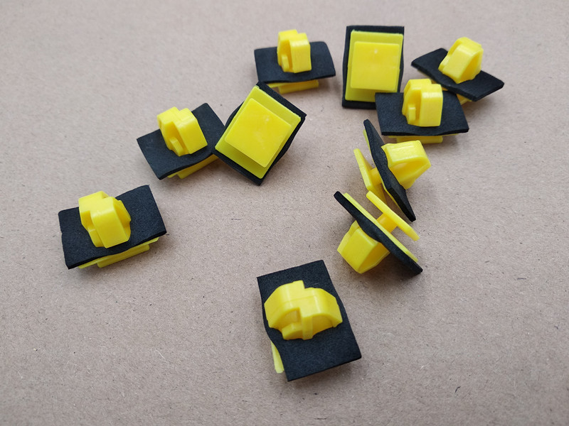 50x Side Moulding and Door Trim Clips Fits the Hyundai Santa Fe /& Kia Sportage