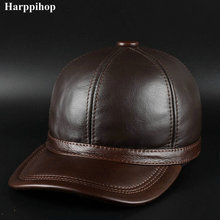 harppihop fur Autumn and winter the new product is recommended for mens leather cap Wool Hat Cap