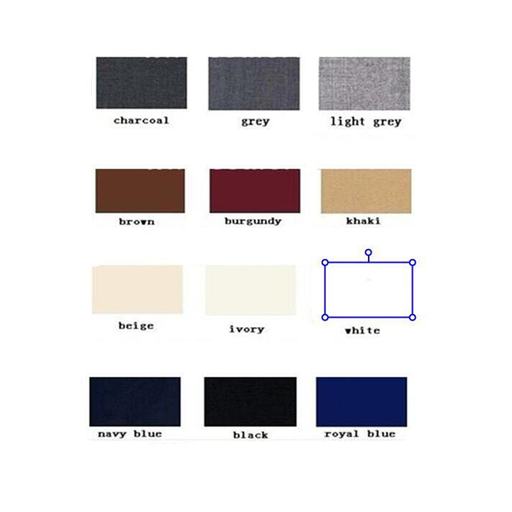 brown As Dames light blanc Femmes noir Veste Color Chart Shown Picture D'affaires Manches Grey Bureau Noir 2 Ensembles Double gris satin Longues kaki Breasted burgundy charcoal ivoire Pièce Formelle Bleu Royal Femme Costume bleu marine Pantalon Uniforme beige Tgwg1
