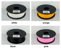 Plastic Rubber Consumables Material High Quality 3d Printer Filament PLA ABS 1 75mm 3mm 1KG Free