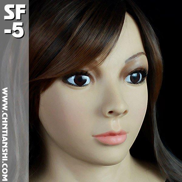 SF-5 CD CHANGE crossdress silicone female mask laser head tascam cd rw750 cdr 201a sf w03pdx sf wo3