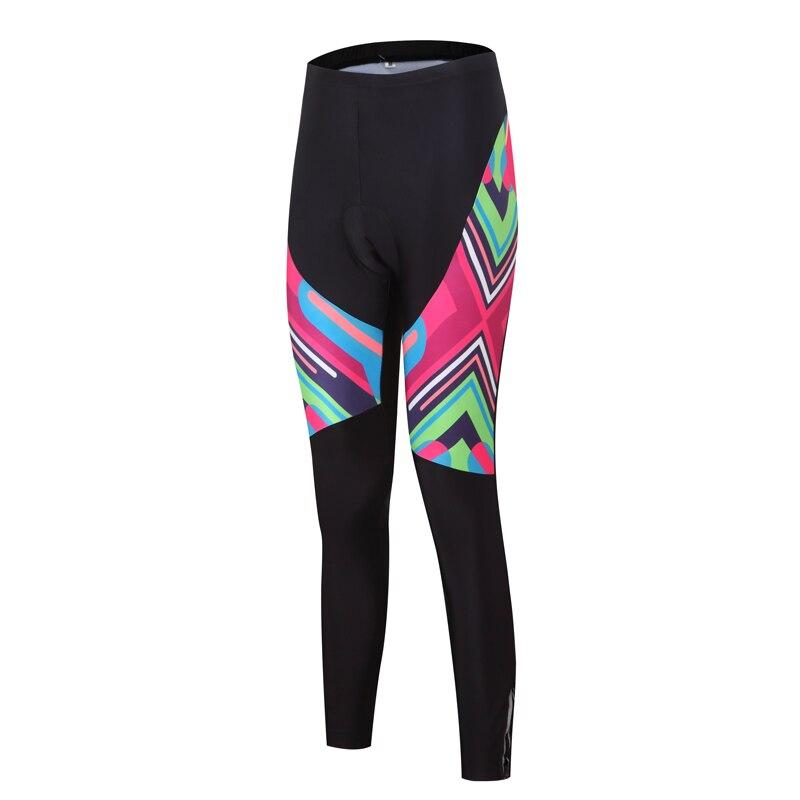 Ženske kolesarske hlače Pro kolesarske hlače črne športne MTB - Kolesarjenje - Fotografija 3