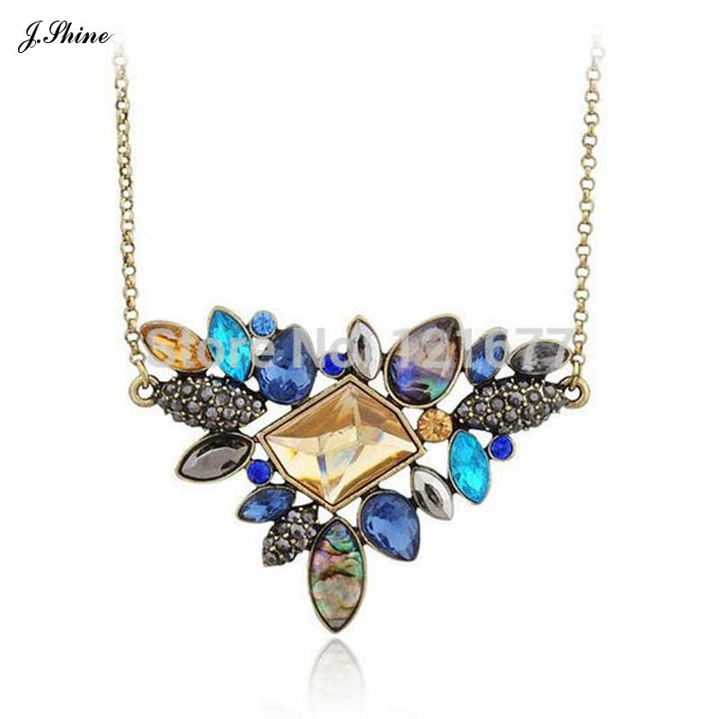 Exquisite bohemia jewelry rhinestone necklace 2015 for Bling jewelry coupon code