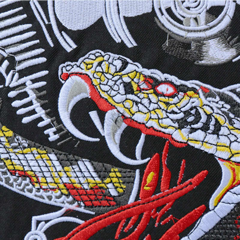 Engine Python Harley Embroidered Patches Quebec Canada Custom Iron On  Patches For Clothes