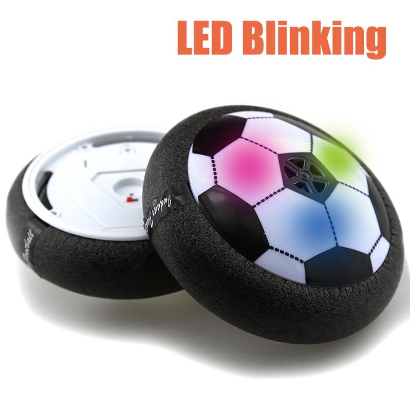 18 cm 15 cm Hover Ball Air Power balón de fútbol disco de colores de juguete de fútbol de Interior de múltiples superficies que flotan y se deslizan al aire libre Juguetes