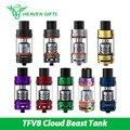 Original smok tfv8 tanque 5.5 ml/6 ml bestia nube atomizador flujo de aire ajustable w/v8-t8 v8-q4 bobina tfv8 nube de smok alien 220 w