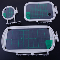 LETAOSK New 3Pcs Embroidery Hoops Set Kit Fit for Brother SE350 SE400 PE500 Sewing Machine