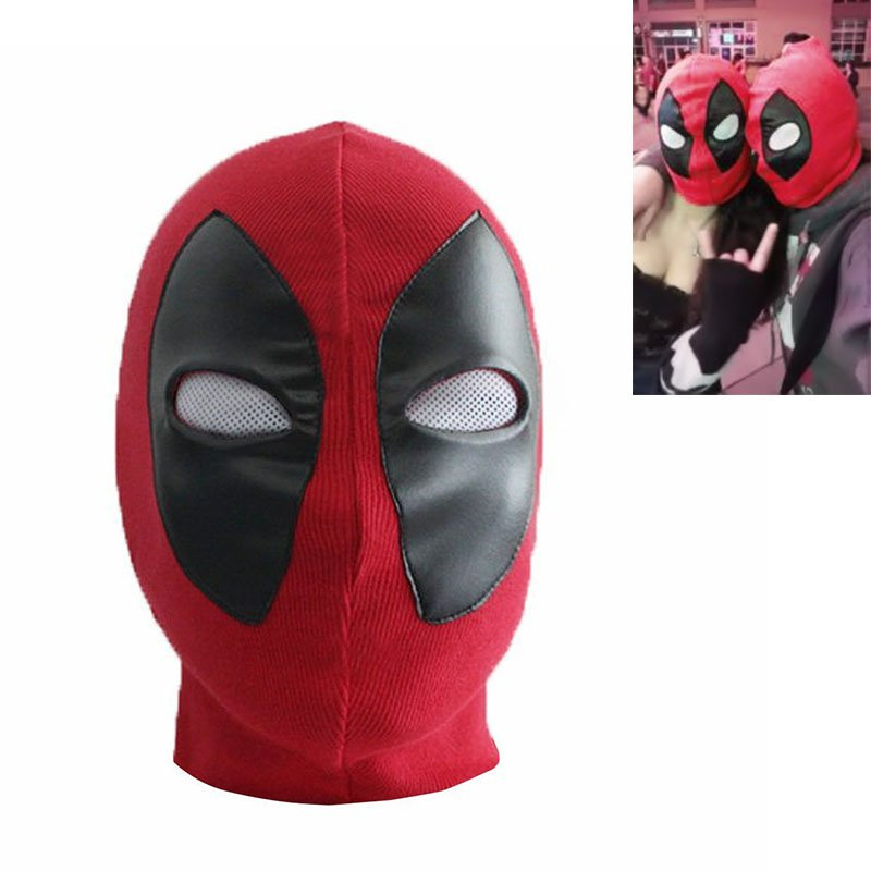 Magnífico Deadpool Patrón De Máscara De Costura Viñeta - Manta de ...