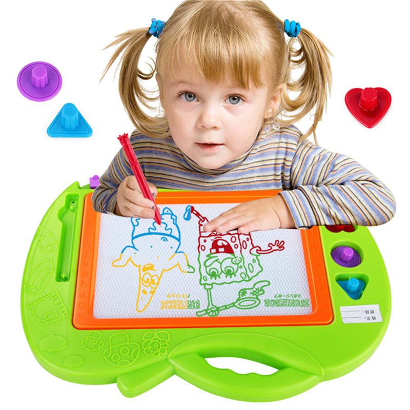 MINOCOOL magnetic drawing board Educational Toy Cartoon Colorful Children's Drawing Board Magnetic Baby Small Blackboard