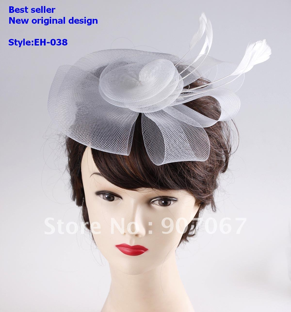 Whole Best Er Fascinator Hats Royal Netting Veils Wedding Brides In Hair Accessories From Women S Clothing On