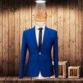 Мужские костюмы куртка высокого качества жених свадебный смокинги куртка индивидуальные деловых работа костюмы куртка