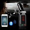 2017 Авто Mp3-плеер Bluetooth FM Передатчик Беспроводной FM Модулятор Автомобильный Комплект Громкой Связи ЖК-Дисплей USB Зарядное Устройство для iPhone Samsung
